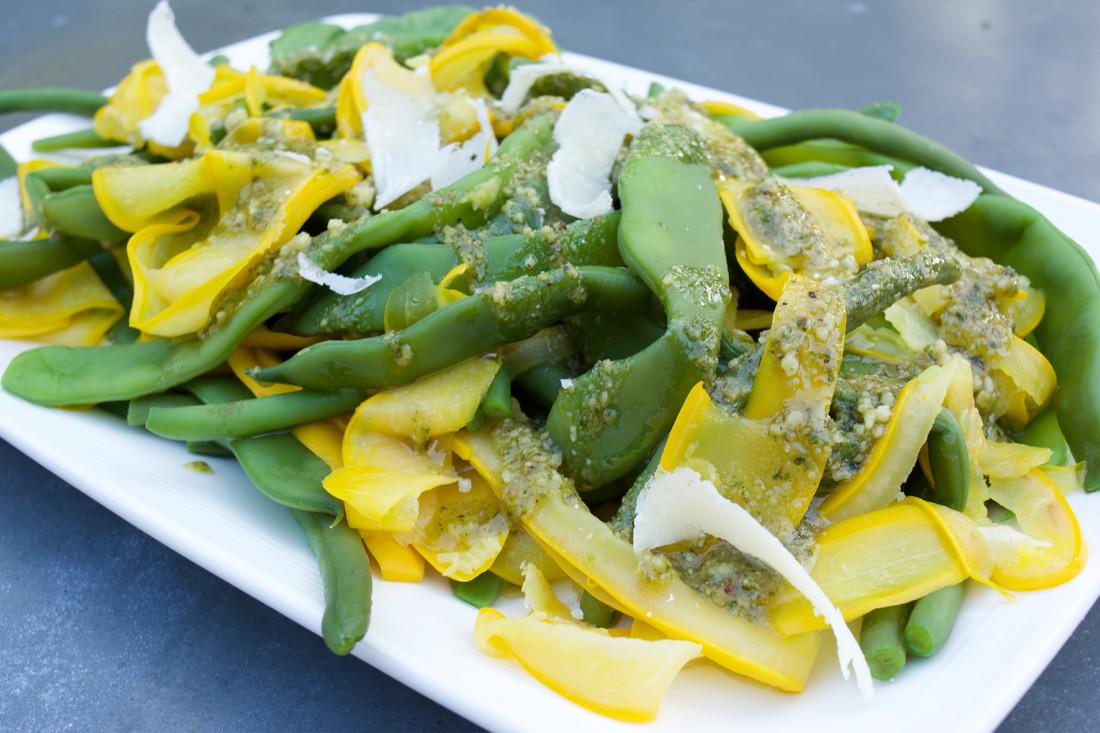 Gele Keuken 8 : Snijbonen sperziebonen en gele courgette uit de keuken van 8 uit