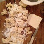 Krokant gebakken tofu